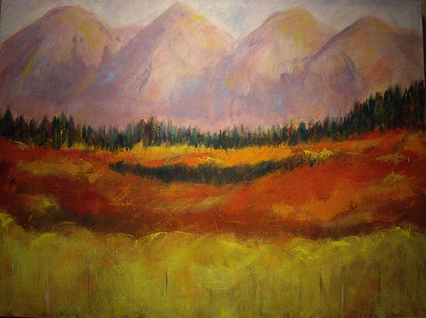 Alpine Glow by Sharon Ford