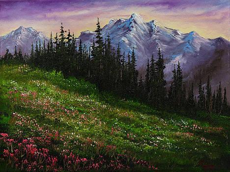 Chris Steele - Alpine Meadow