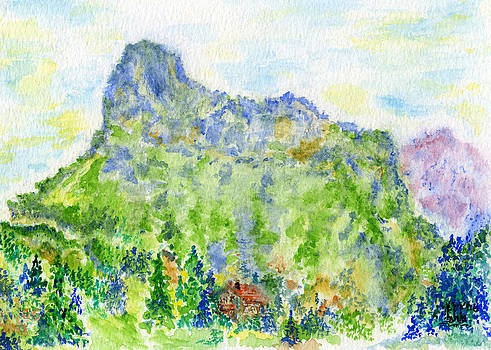 Alpine Retreat by Bruce Blanchard