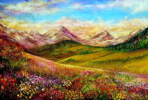 Alpine Spring by Ann Marie Bone