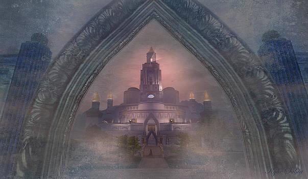Alqualonde Castle by Kylie Sabra