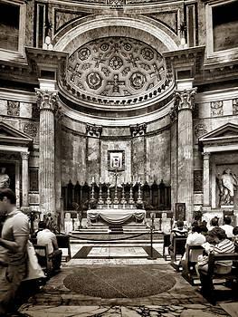 Altar at the Pantheon by Karen Lindale
