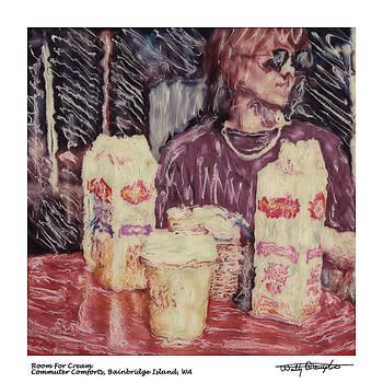 Altered Polaroid - Room For Cream by Wally Hampton