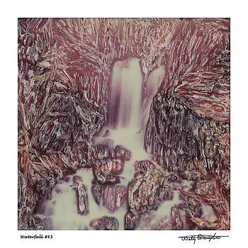 Altered Polaroid - Waterfall 43 by Wally Hampton
