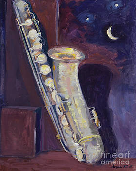Alto Sax by Suzanne Elliott