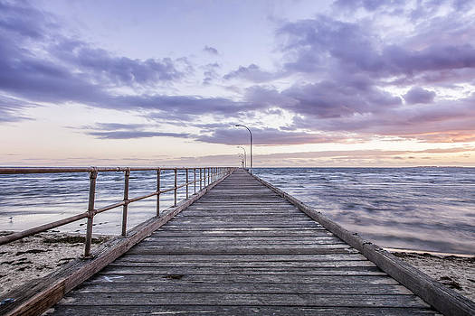 Altona Pier by Shari Mattox