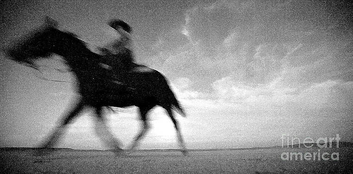Alvord Desert Cowgirl by Michele AnneLouise Cohen