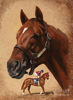 Alydar by Pat DeLong