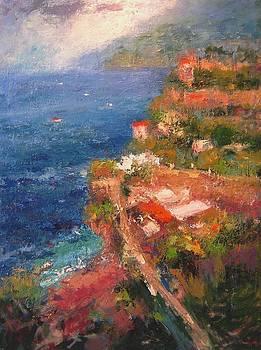 Amalfi coast by R W Goetting