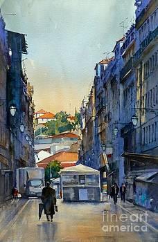 Amanhecer em Lisboa by Antonio Bartolo