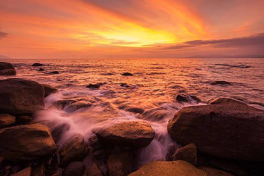 Amapas Sunset by Shanti Gilbert