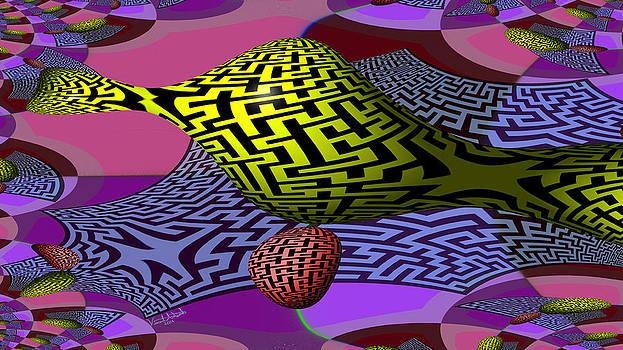 Mandelbrot Maze by Vincent Autenrieb