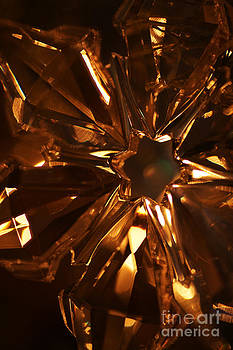 Linda Shafer - Amber Crystal Snowflake
