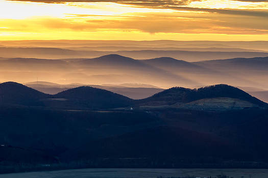 Amber Mountains by Bob Carney