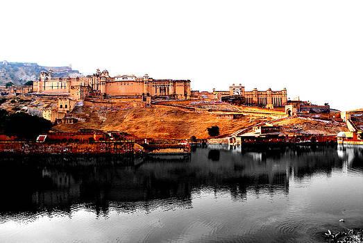 Amber Palace - Jaipur- Viator's Agonism by Vijinder Singh
