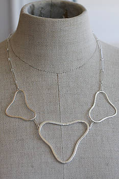 Ameba necklace by Kelly Clower