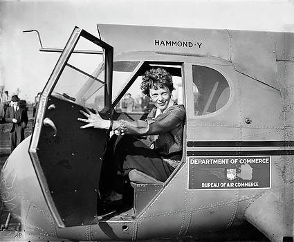 Amelia Earhart by Library Of Congress