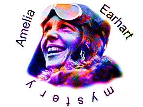 Algirdas Lukas - Amelia Earhart Portrait