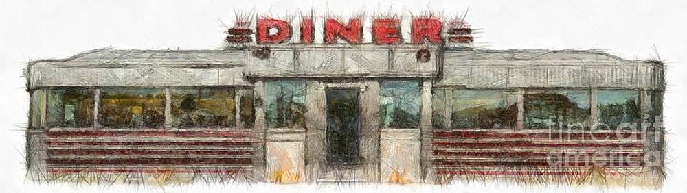 Edward Fielding - American Diner Pencil