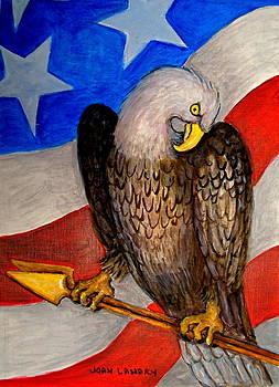 American Eagle by Joan Landry