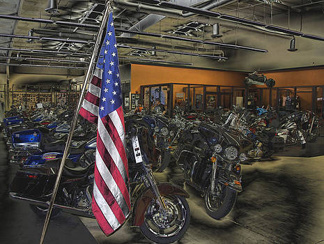 American Harley Davidson by Thomas  MacPherson Jr