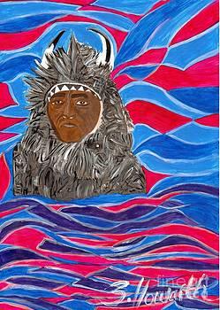 American Indian Buffalo by Sylvia Howarth
