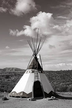 American Indian Home  by Yosi Cupano