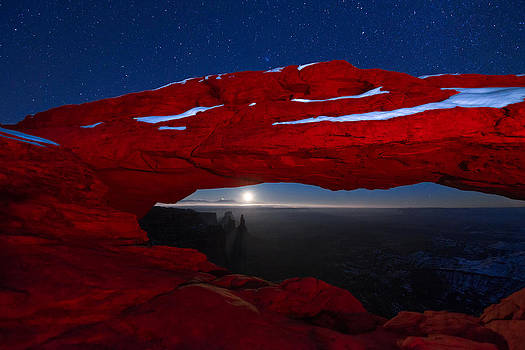 Dustin  LeFevre - American Moonrise