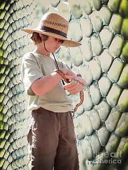 American Snake Charmer by Megan Dirsa-DuBois