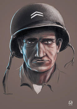 American Soldier of WWII by Gorka Aranburu
