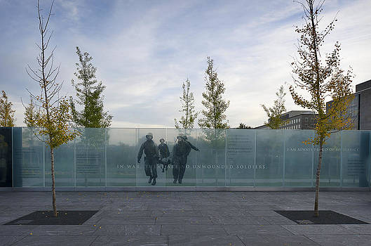 American Veterans Disabled for Life Memorial 3 by Michael Donahue