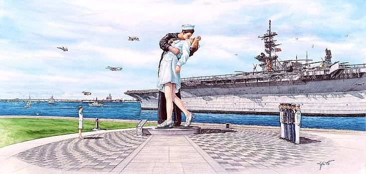 American Victory Monument by John Yato