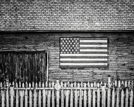 Lisa Russo - Americana Barn in Black and White