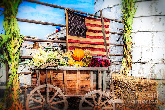 Americana Farm Scene by Eleanor Abramson