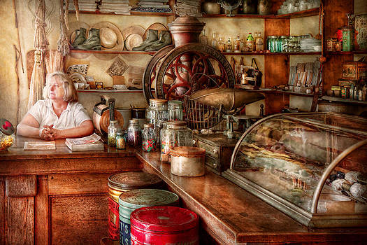 Mike Savad - Americana - Store - Looking after the shop