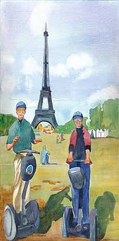 Americans Paris-Champs de Mars by John Ressler