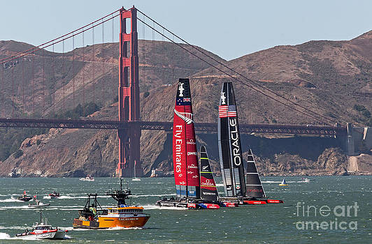 Kate Brown - Americas Cup at the Gate