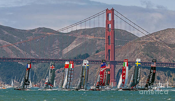 Kate Brown - Americas Cup Catamarans at the Golden Gate