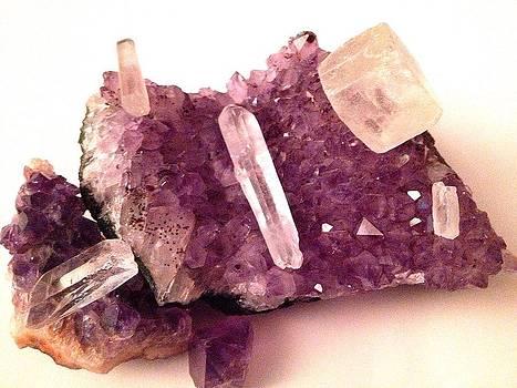 Amethyst crystal quartz by Sierra Andrews