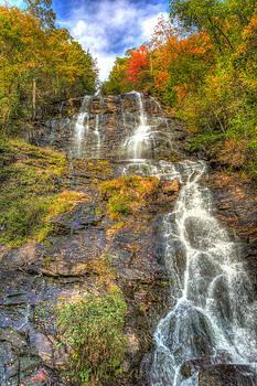 Amicolola Falls seasons change by Gerald Adams