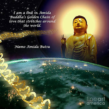 Amida's Golden Chain of Love 2 by Seas Reflecting Starlight