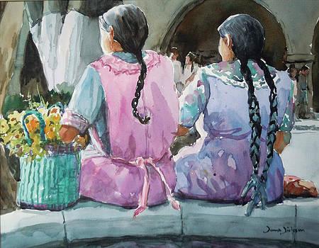 Amigas Oaxaca by Donna Dickson