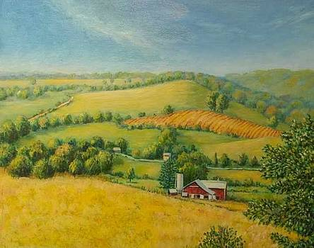 Amish Autumn by Melissa Taylor