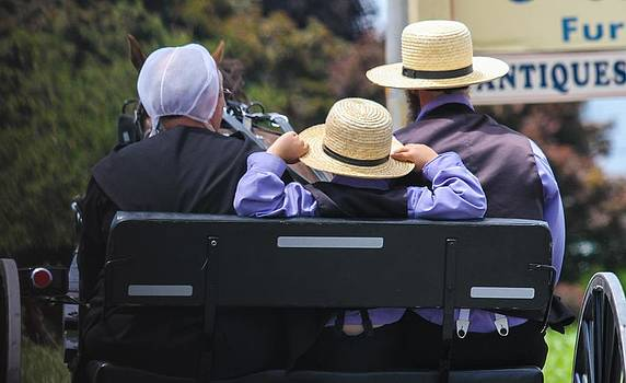 Amish Buggy Ride by Brad Fuller
