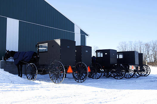 Amish Convention by David Simons