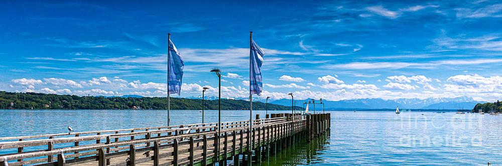 Ammersee - Lake in Bavaria by Juergen Klust