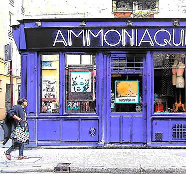 Jan Matson - Ammoniaque Boutique in Marais Paris