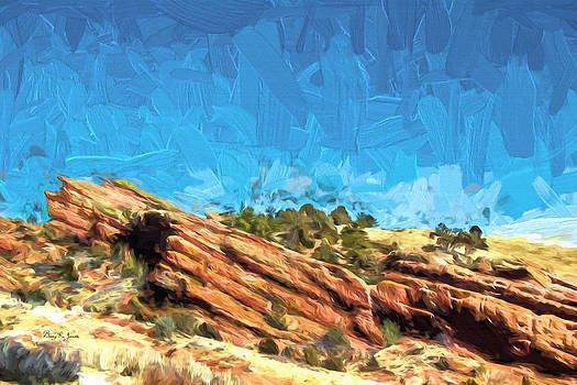 Colorado - Red Rock - Among the Rocks by Barry Jones