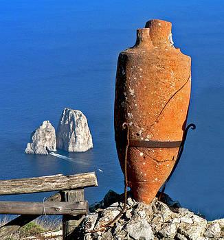 Amphora on the Island of Capri 2 by Russ Murry