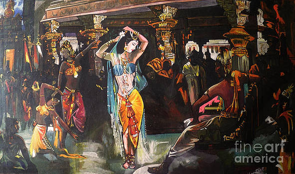 Amrapali by Artist Nandika  Dutt